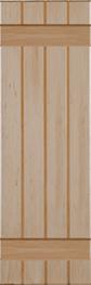 Board and Batten Wood Shutters