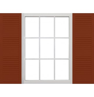 Aluminum Louvered Shutters