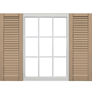 Atlantic Classic Collection - Faux Louvered Shutters