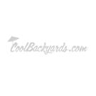 Standard Open Board & Batten Composite Shutters