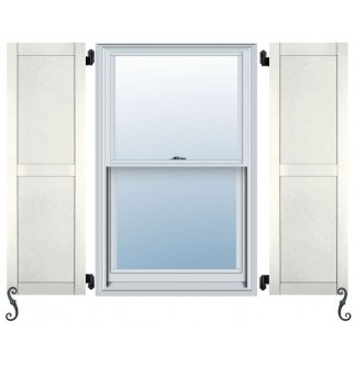 Atlantic Pro Series - Flat Panel Arch Top Shutters