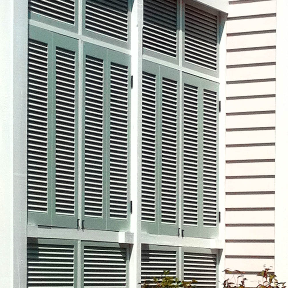Legends Composite Bi Fold Louvered Amp Bahama Shutters