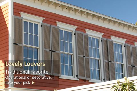 Decorative Shutters - Slide 1