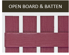Open Board & Batten