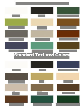 Aluminum Shutter Colors