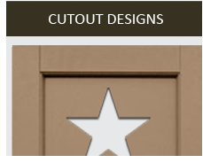 Shutters with Cutouts