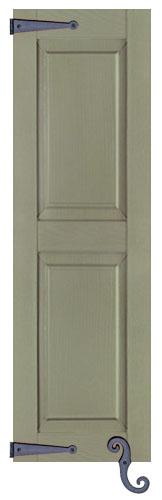 Custom raised panel vinyl shutters exterior decorative shutters for Raised panel exterior shutters