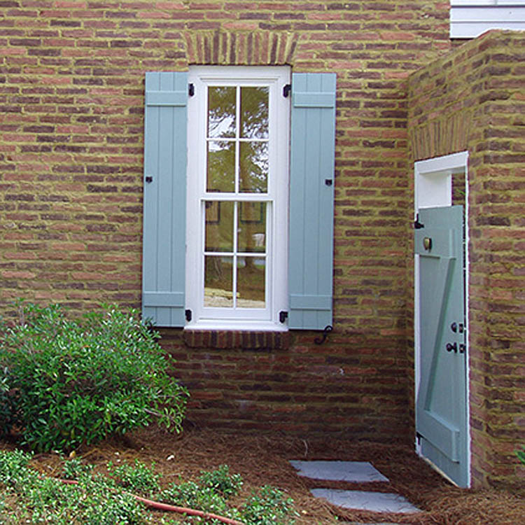 How do I Install Shutters on a Brick House?