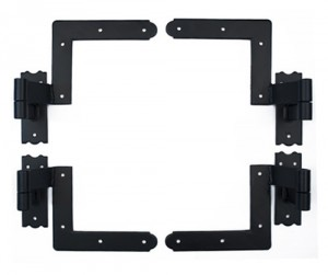 8-Piece New York Style Hinge Set