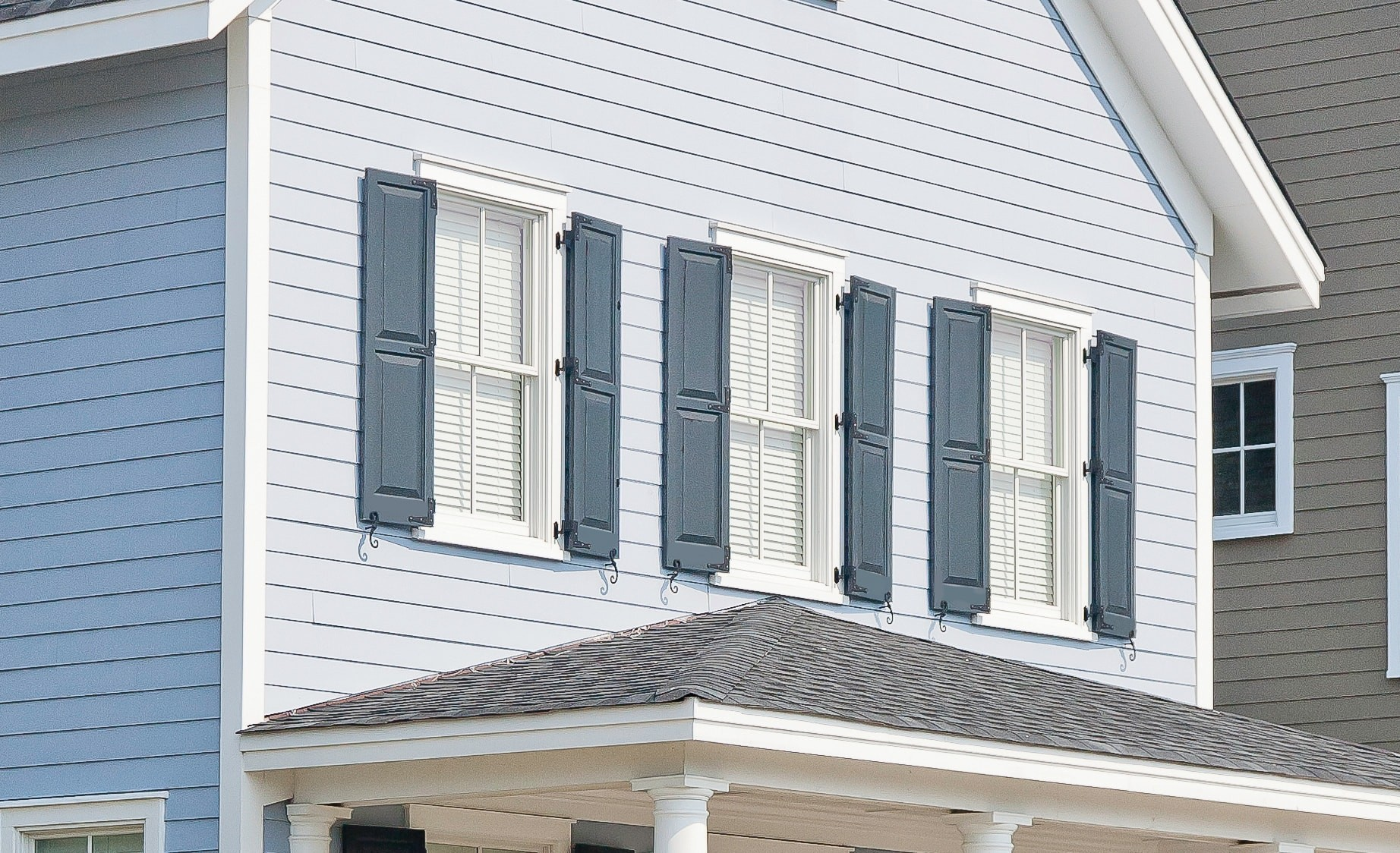 Atlantic Shutters Classic Collection Raised Panel Shutters