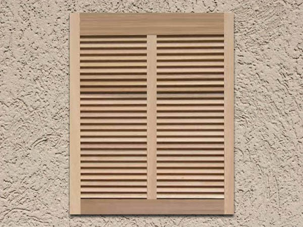 Premium Wood Bahama Shutters Decorative Shutters