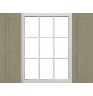 Custom Country Style Vinyl Shutters