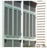 Legends Composite Bi-Fold Louvered & Bahama Shutters