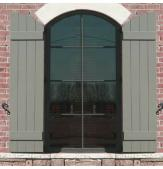 Legends Composite Arched Board & Batten Shutters