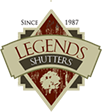 Decorative Shutters by Legends Direct